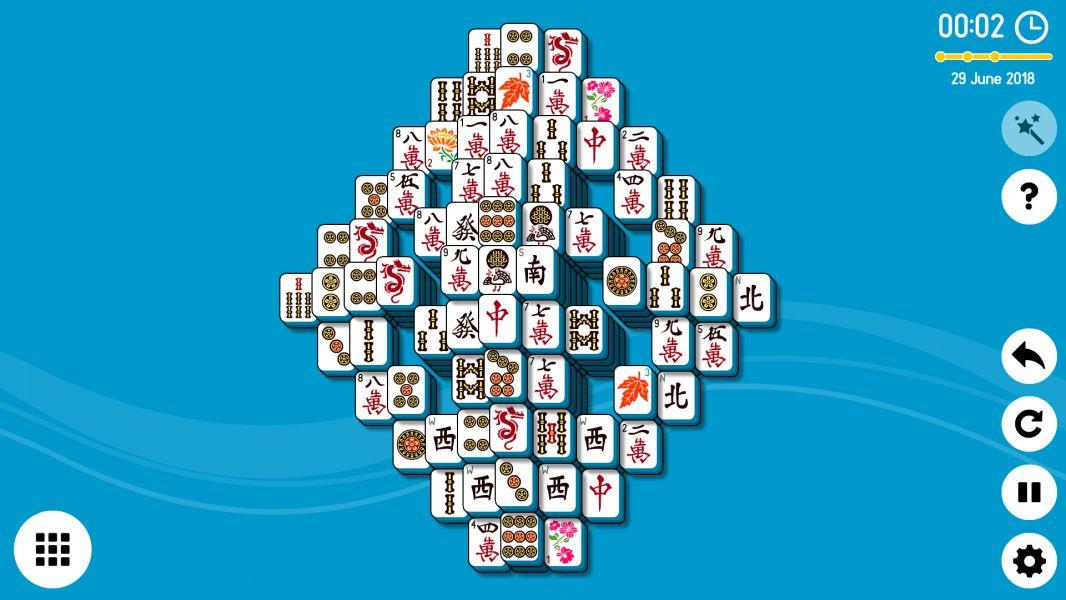 Level 2018-06-29. Online Mahjong Solitaire