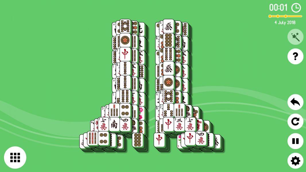 Level 2018-07-06. Online Mahjong Solitaire
