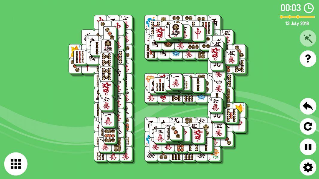 Level 2018-07-13. Online Mahjong Solitaire