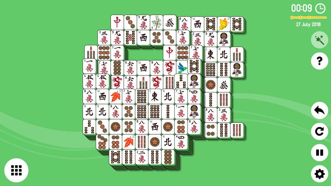 Level 2018-07-27. Online Mahjong Solitaire