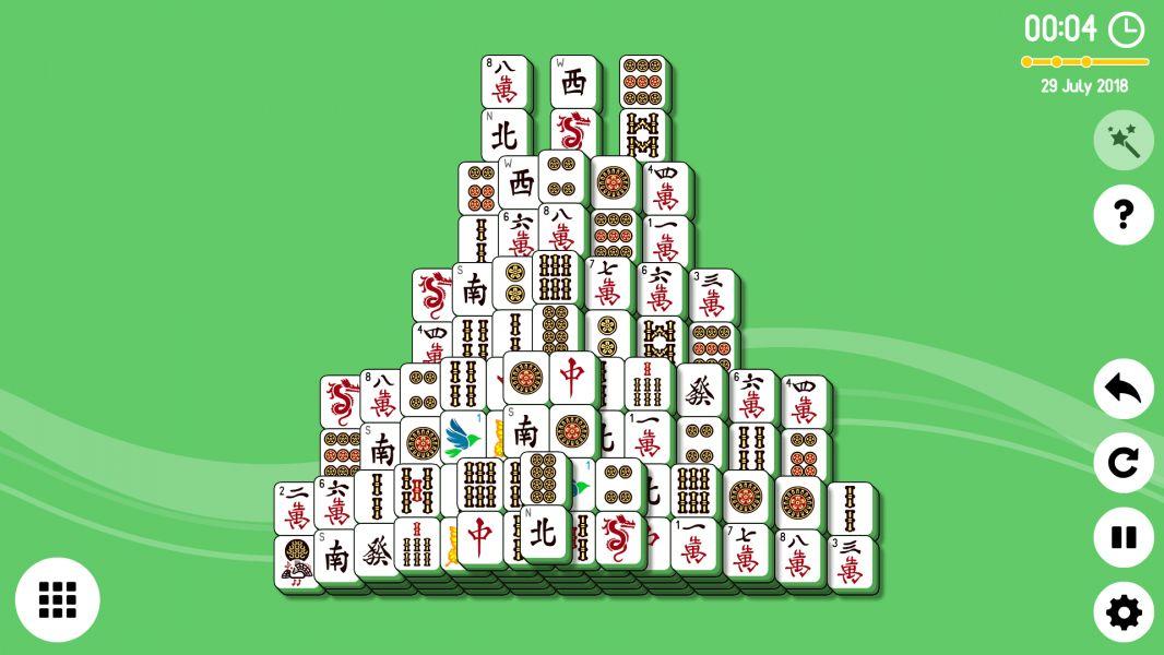 Level 2018-07-29. Online Mahjong Solitaire