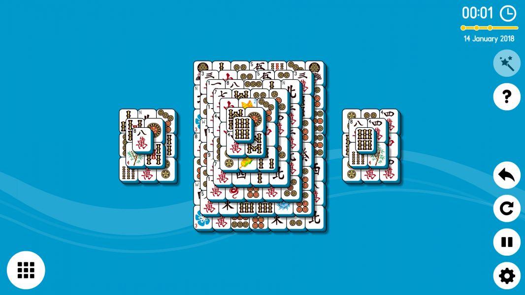 Level 2018-01-14. Online Mahjong Solitaire
