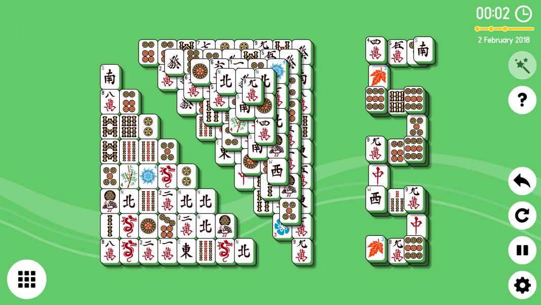 Level 2018-02-02. Online Mahjong Solitaire