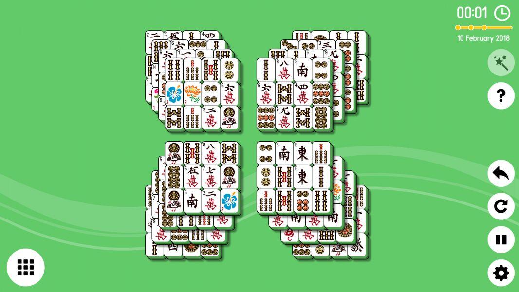 Level 2018-02-10. Online Mahjong Solitaire