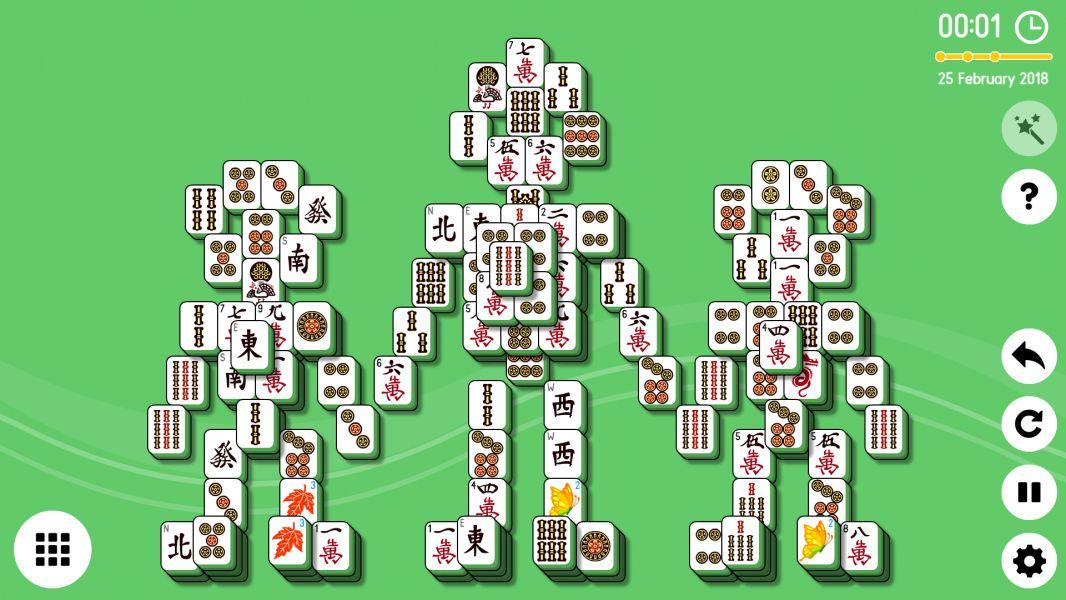 Level 2018-02-25. Online Mahjong Solitaire