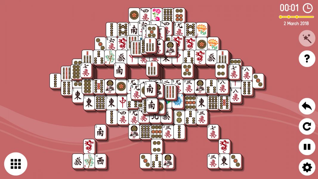 Level 2018-03-02. Online Mahjong Solitaire