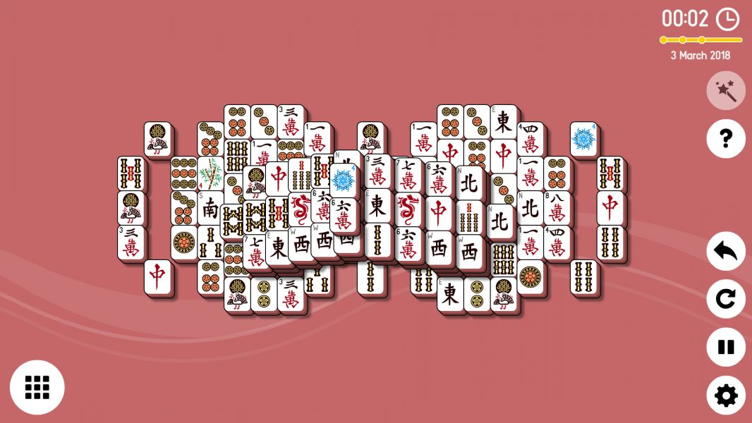 Level 2018-03-03. Online Mahjong Solitaire
