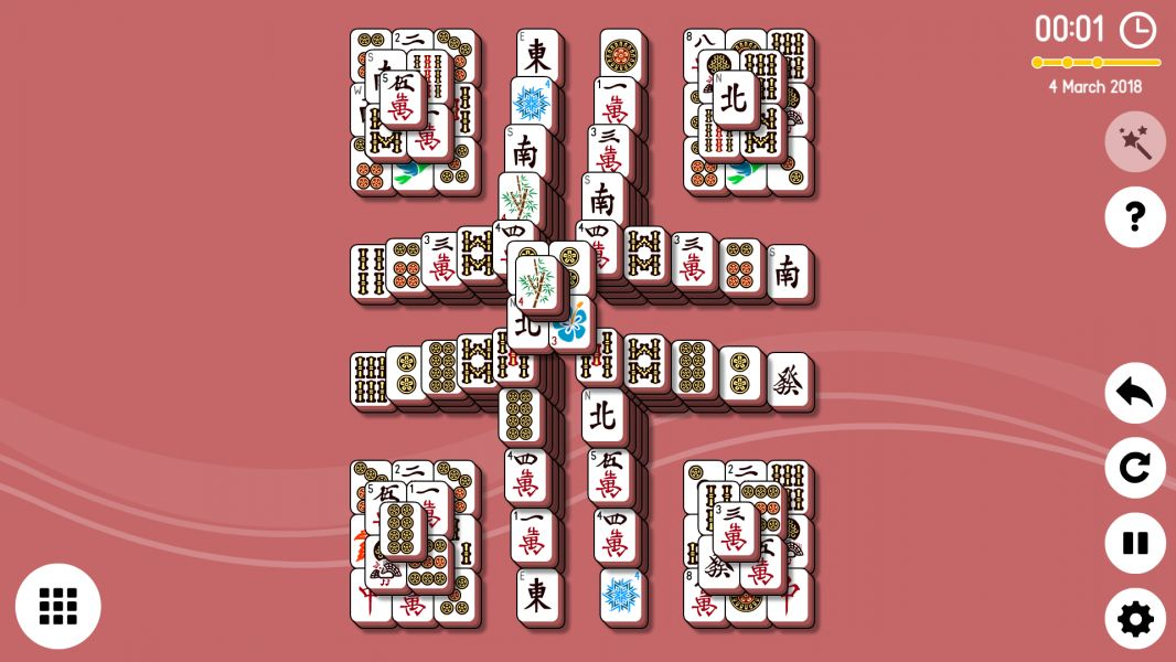 Level 2018-03-04. Online Mahjong Solitaire