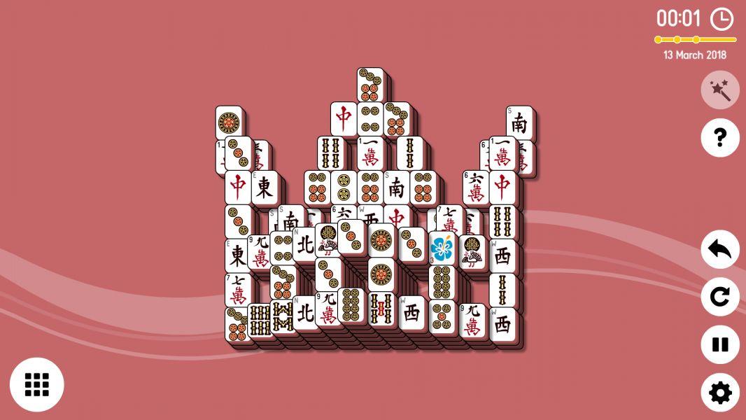 Level 2018-03-13. Online Mahjong Solitaire