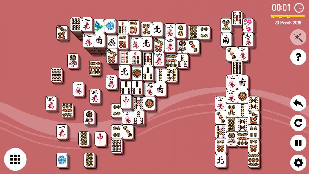 Level 2018-03-20. Online Mahjong Solitaire