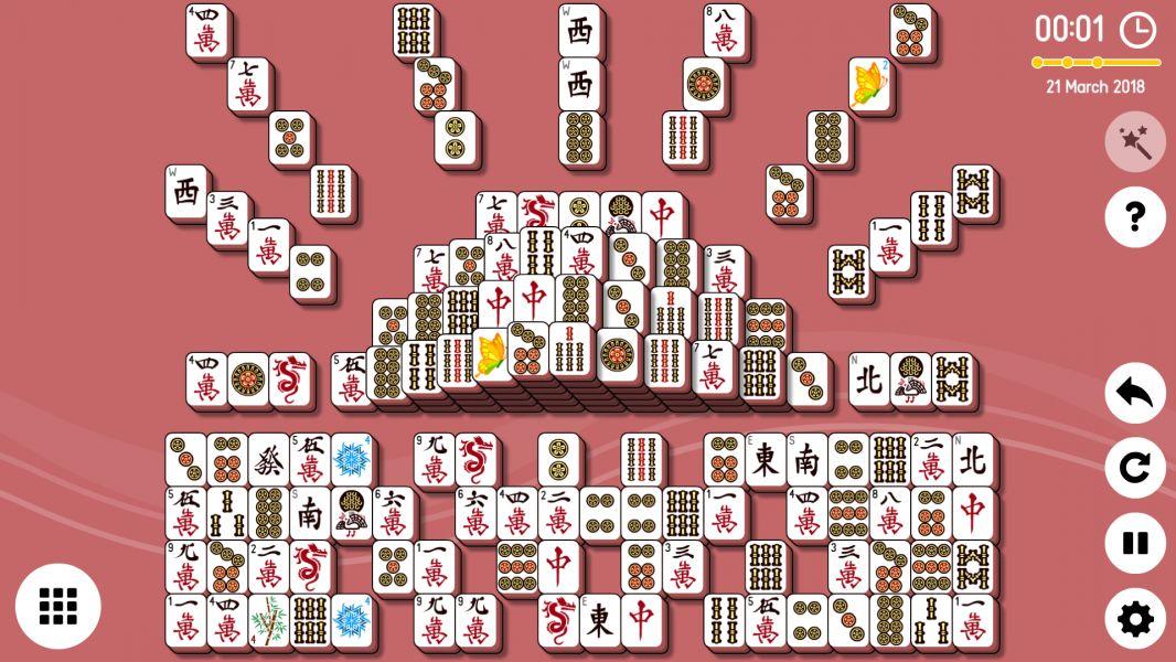 Level 2018-03-21. Online Mahjong Solitaire