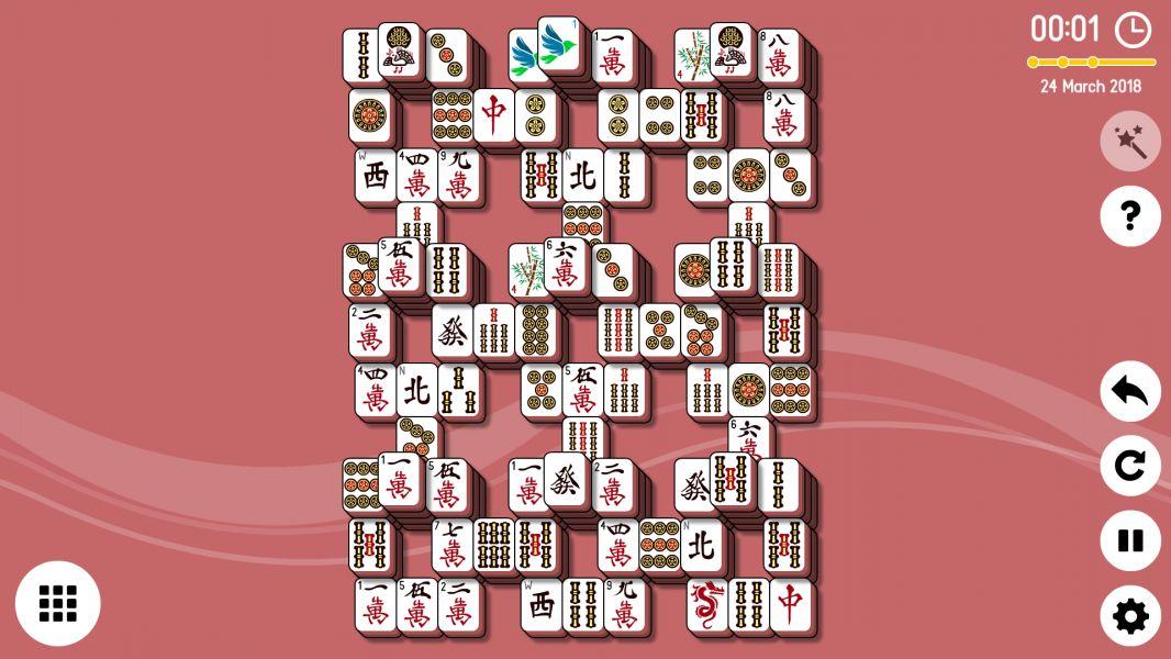 Level 2018-03-24. Online Mahjong Solitaire