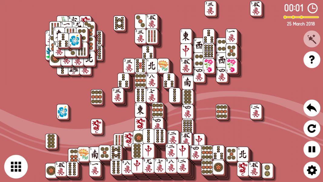 Level 2018-03-25. Online Mahjong Solitaire