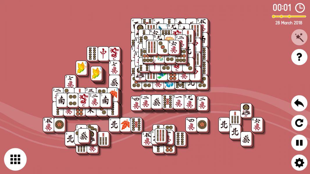 Level 2018-03-28. Online Mahjong Solitaire
