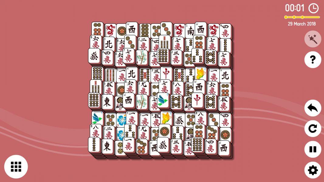 Level 2018-03-29. Online Mahjong Solitaire