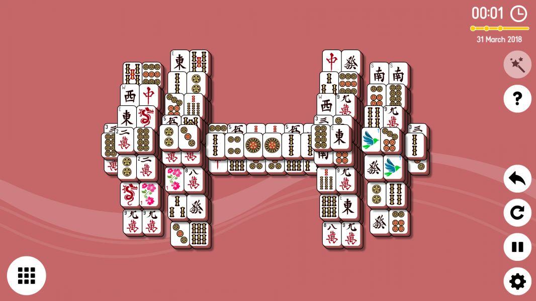 Level 2018-03-31. Online Mahjong Solitaire