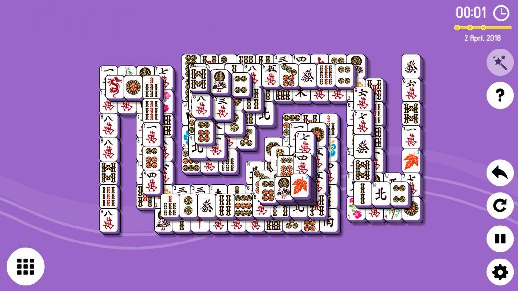 Level 2018-04-02. Online Mahjong Solitaire