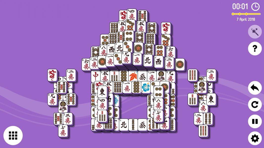Level 2018-04-07. Online Mahjong Solitaire