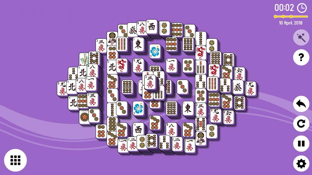 Level 2018-04-10. Online Mahjong Solitaire