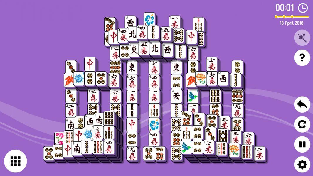 Level 2018-04-13. Online Mahjong Solitaire