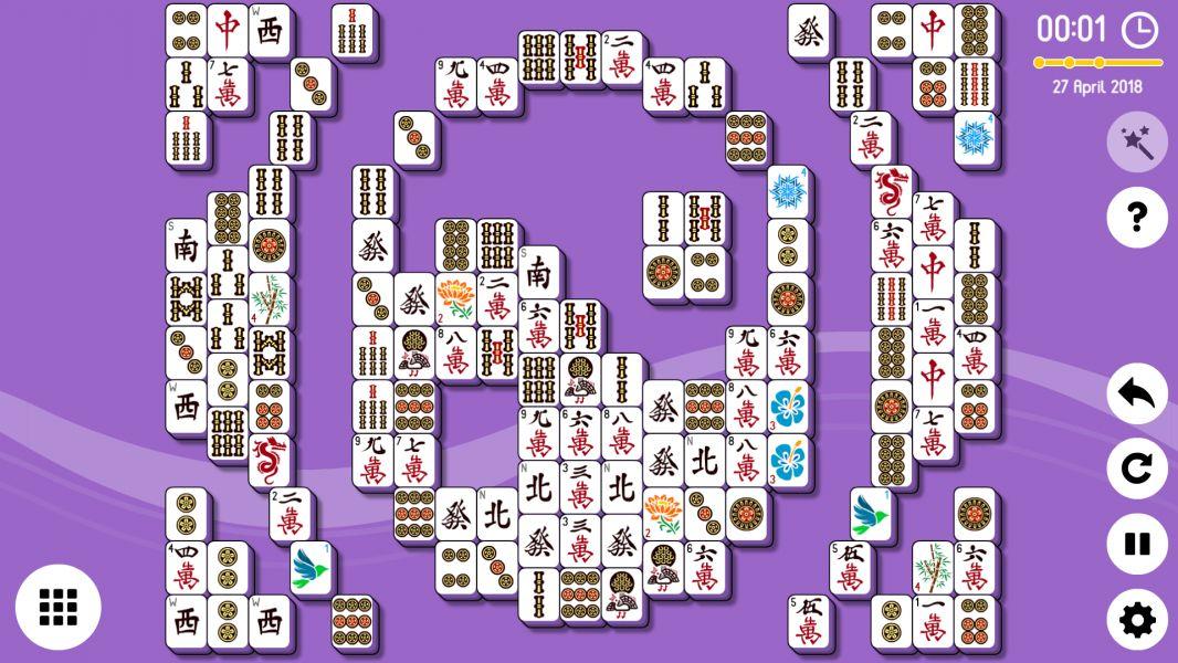 Level 2018-04-27. Online Mahjong Solitaire