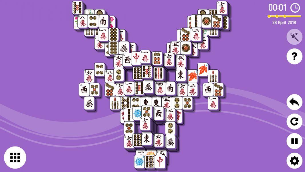 Level 2018-04-28. Online Mahjong Solitaire