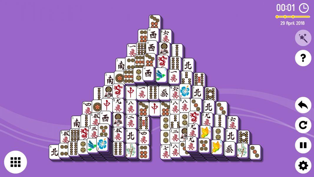 Level 2018-04-29. Online Mahjong Solitaire