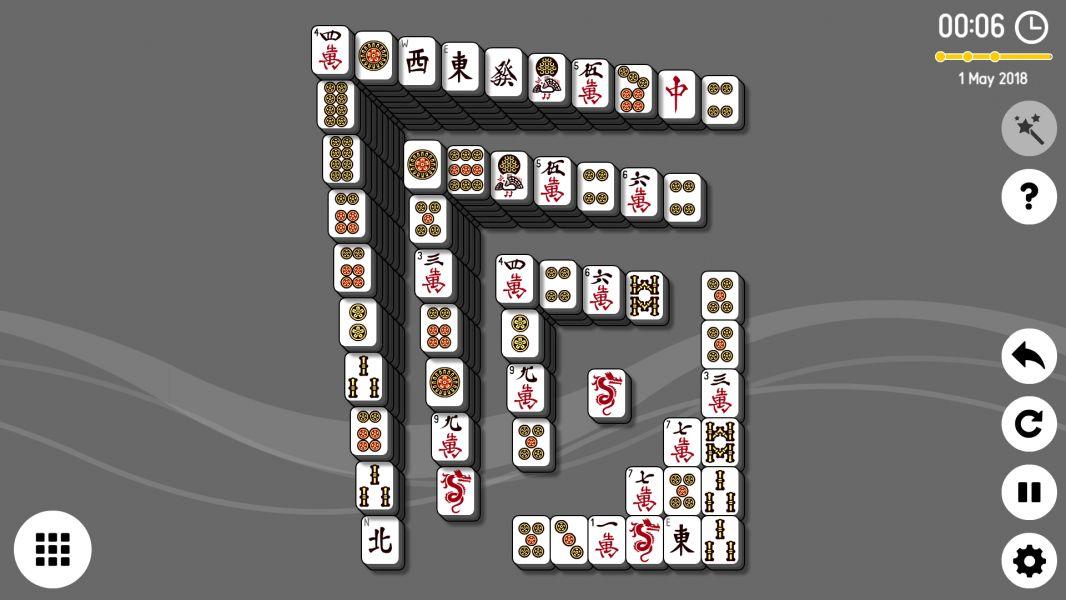 Level 2018-05-01. Online Mahjong Solitaire