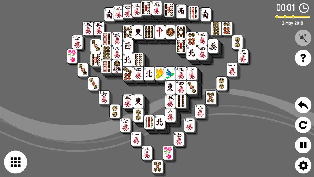 Level 2018-05-02. Online Mahjong Solitaire