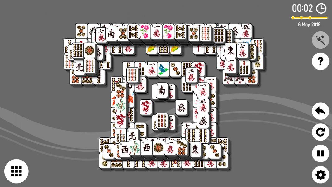 Level 2018-05-06. Online Mahjong Solitaire