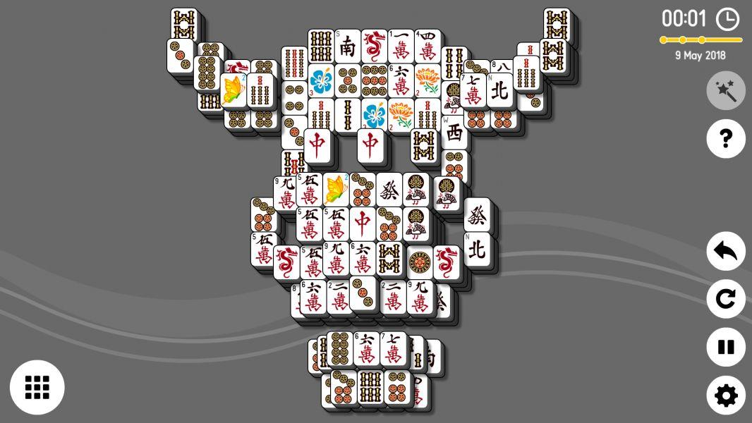 Level 2018-05-09. Online Mahjong Solitaire