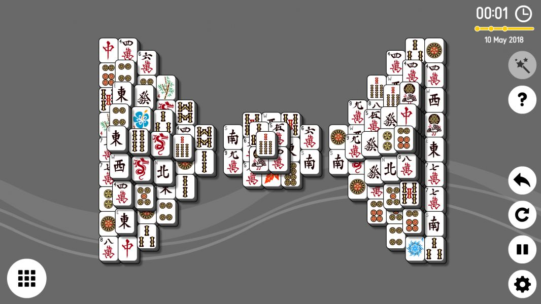 Level 2018-05-10. Online Mahjong Solitaire