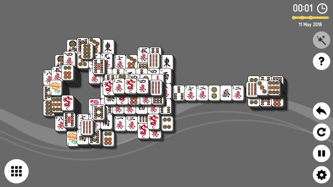Level 2018-05-11. Online Mahjong Solitaire