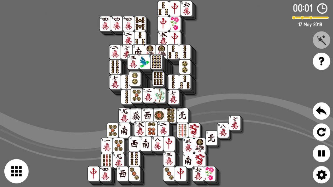 Level 2018-05-17. Online Mahjong Solitaire