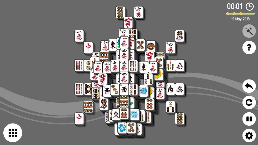 Level 2018-05-19. Online Mahjong Solitaire