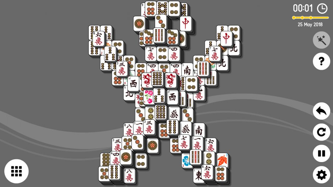 Level 2018-05-25. Online Mahjong Solitaire