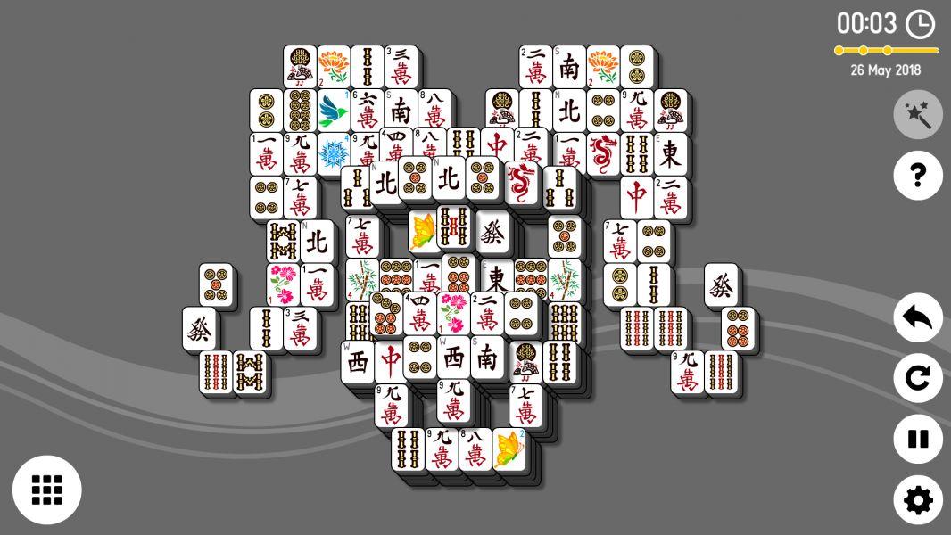Level 2018-05-26. Online Mahjong Solitaire