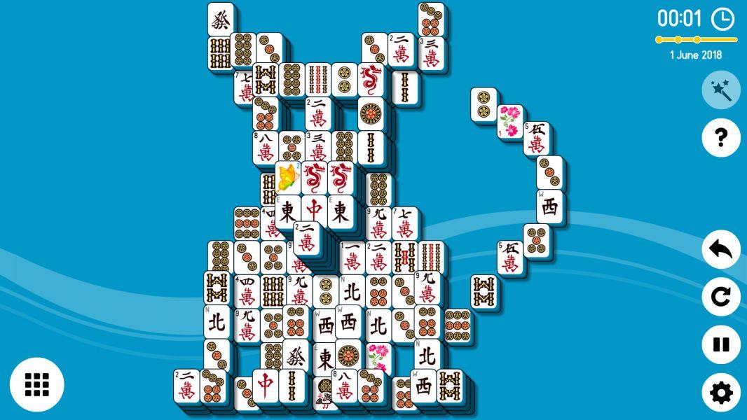 Level 2018-06-01. Online Mahjong Solitaire
