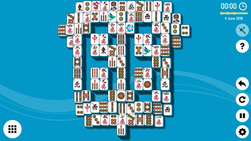 Level 2018-06-04. Online Mahjong Solitaire