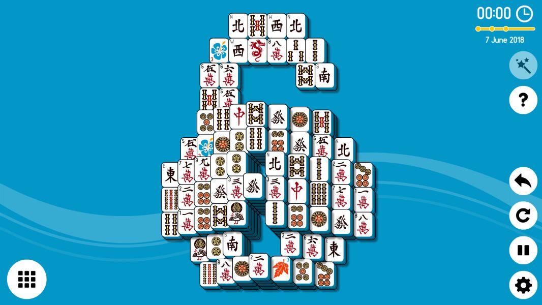Level 2018-06-07. Online Mahjong Solitaire