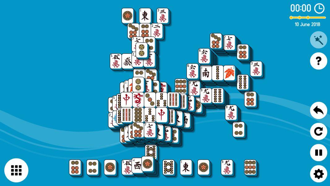 Level 2018-06-10. Online Mahjong Solitaire
