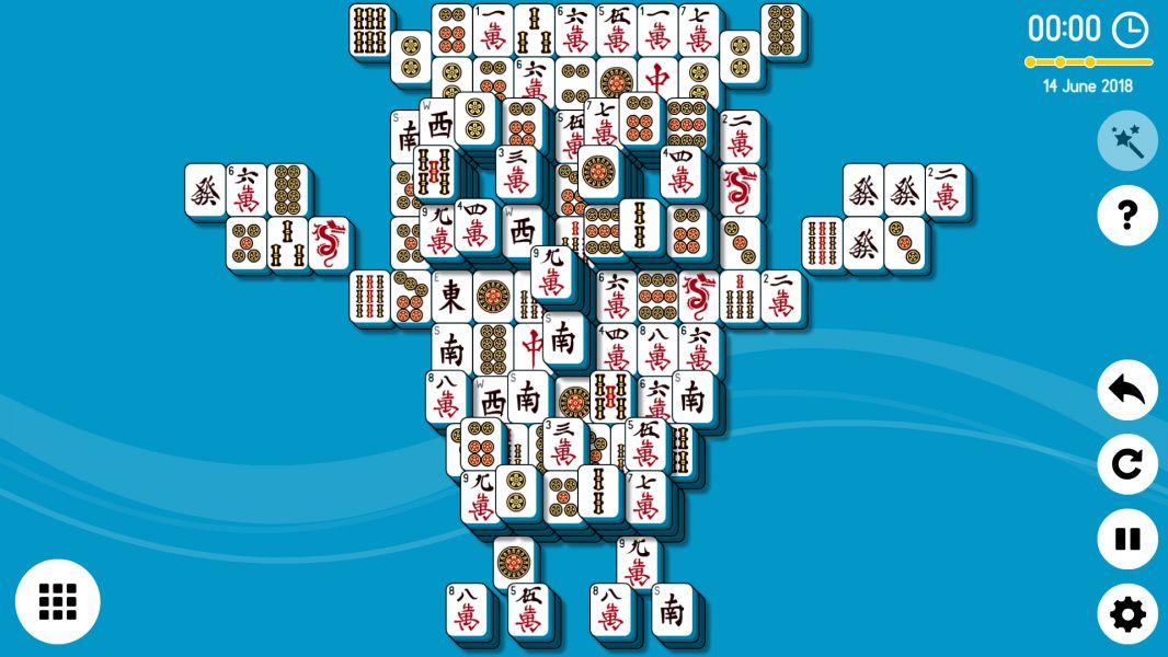 Level 2018-06-14. Online Mahjong Solitaire