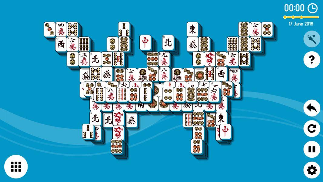 Level 2018-06-17. Online Mahjong Solitaire