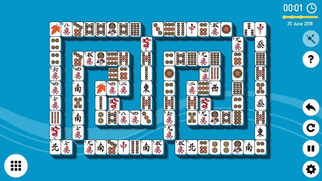 Level 2018-06-20. Online Mahjong Solitaire