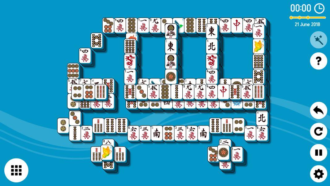 Level 2018-06-21. Online Mahjong Solitaire