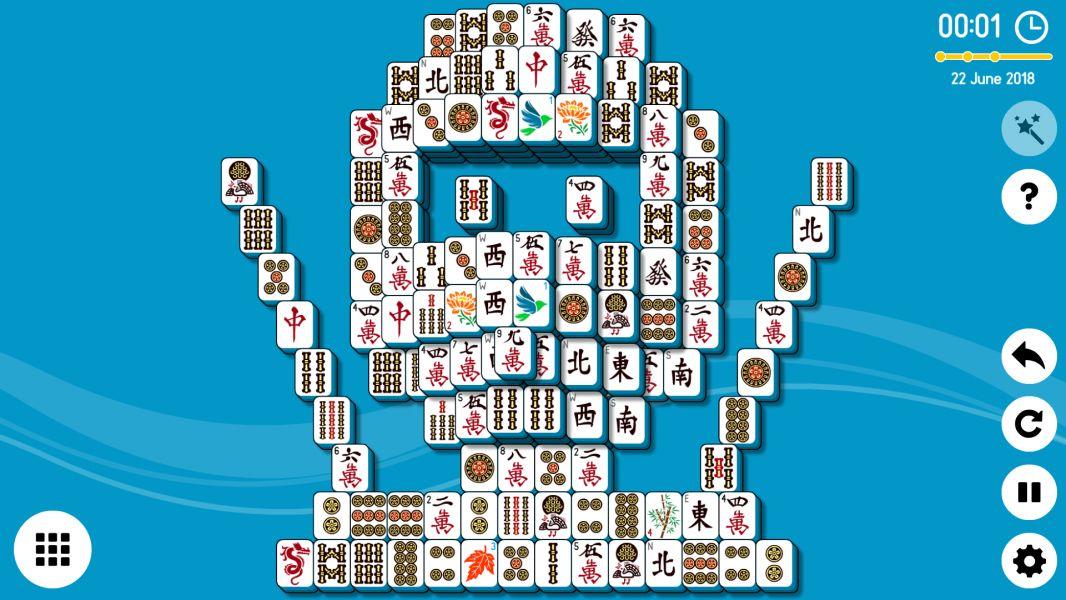 Level 2018-06-22. Online Mahjong Solitaire
