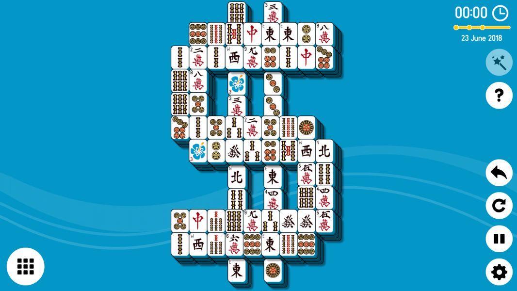 Level 2018-06-23. Online Mahjong Solitaire