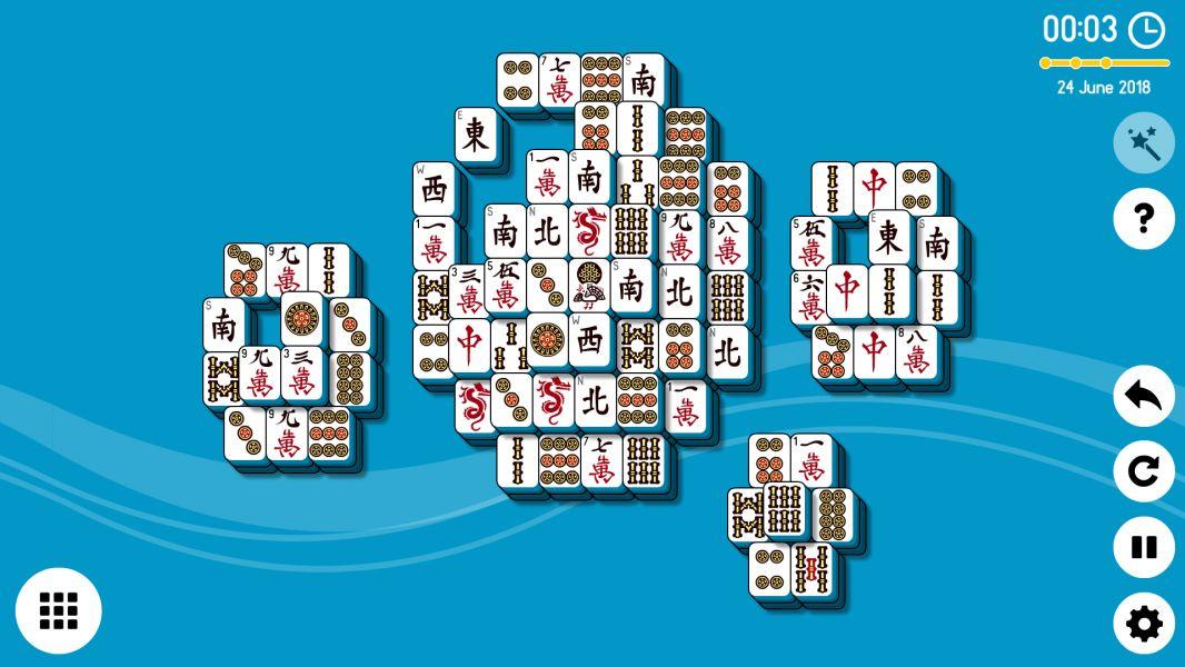 Level 2018-06-24. Online Mahjong Solitaire