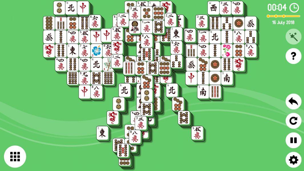 Level 2018-07-16. Online Mahjong Solitaire