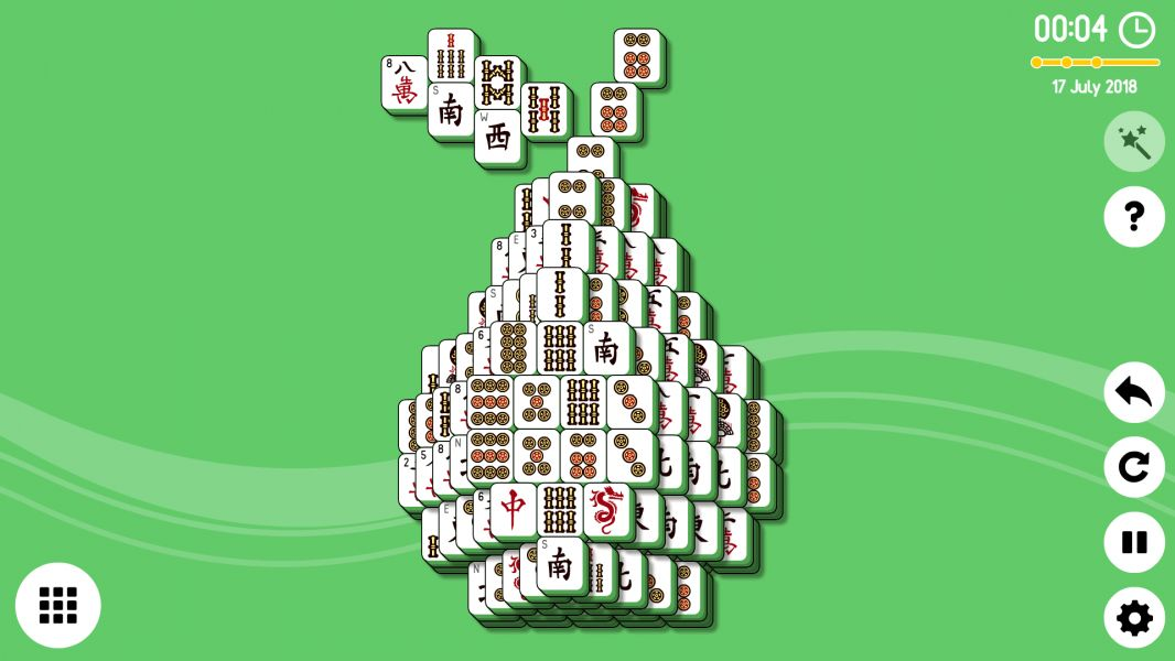 Level 2018-07-17. Online Mahjong Solitaire